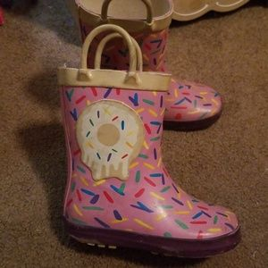 Other - Toddler girls size 7 rain boots